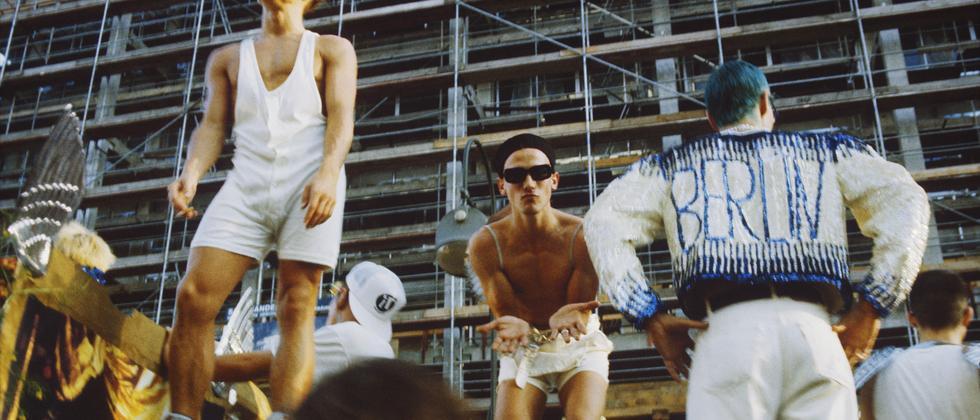 Love Parade, Berlin-Charlottenburg, Sommer 1990