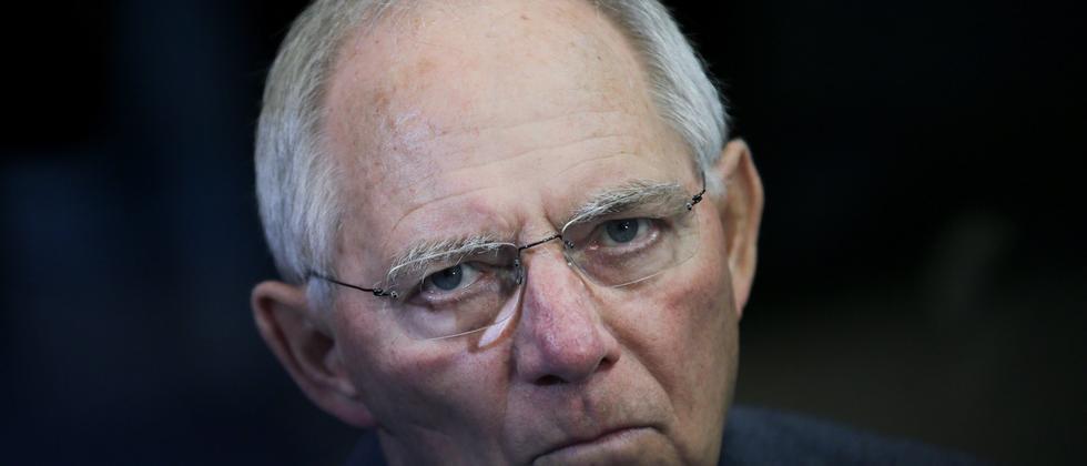 Wolfgang Schäuble Pegida