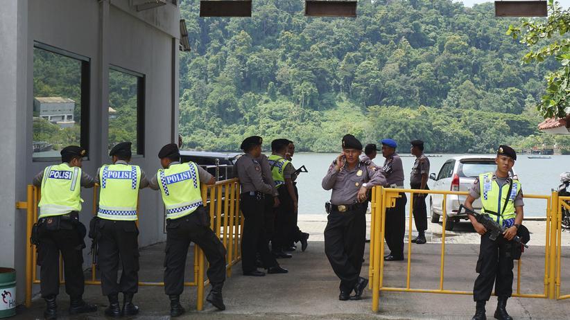 Drogenhandel: Fünf Ausländer in Indonesien hingerichtet