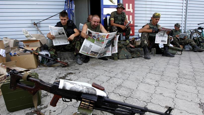 Ukraine-Krieg: Der Kampf um die Informationen