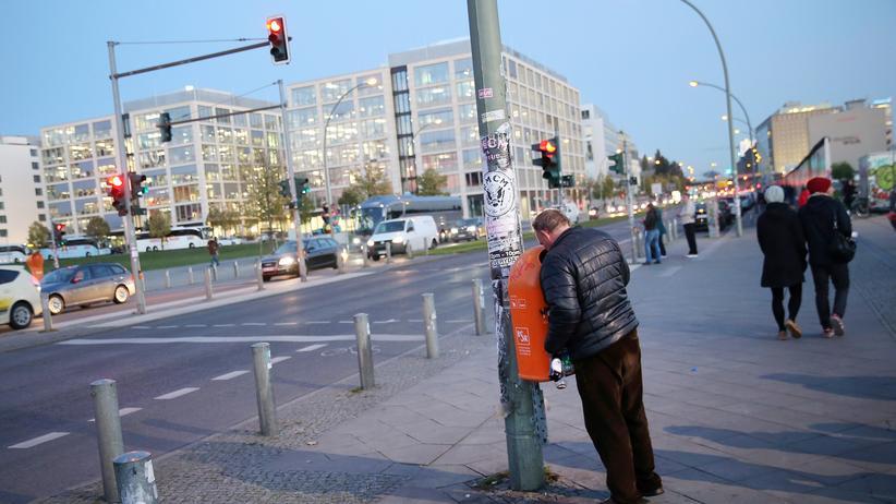 Gerechtigkeit: Ein Flaschensammler in Berlin