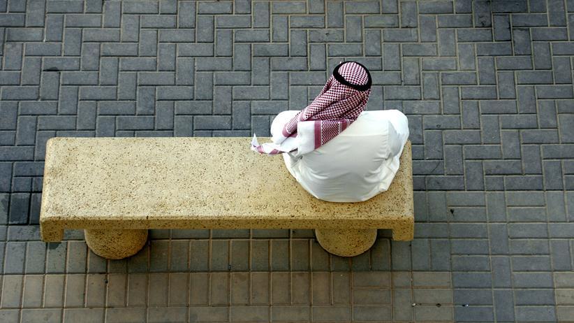 Hinrichtungen: Ein Mann in Riad, der Hauptstadt Saudi-Arabiens