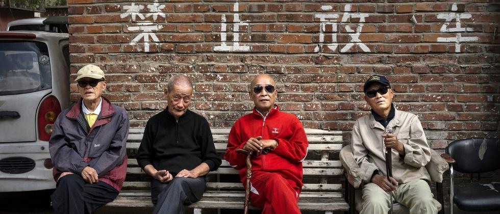 Alter Rente China Senioren Pflege Altwerden