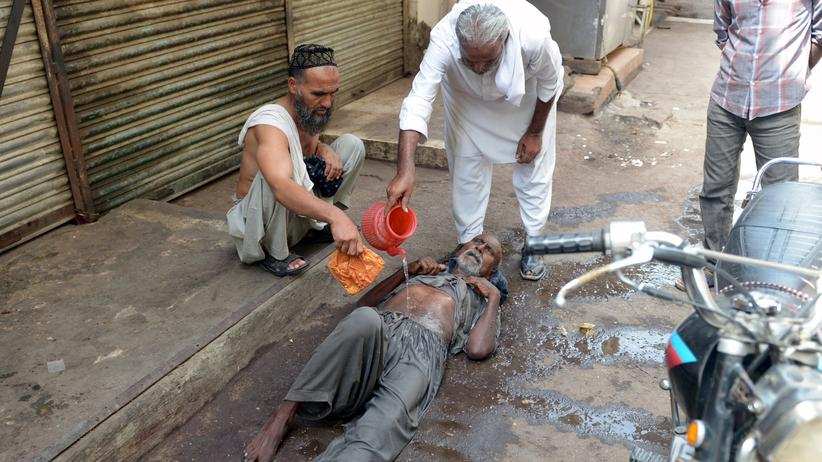 Pakistan: Hunderte Menschen sterben an Folgen von Hitze