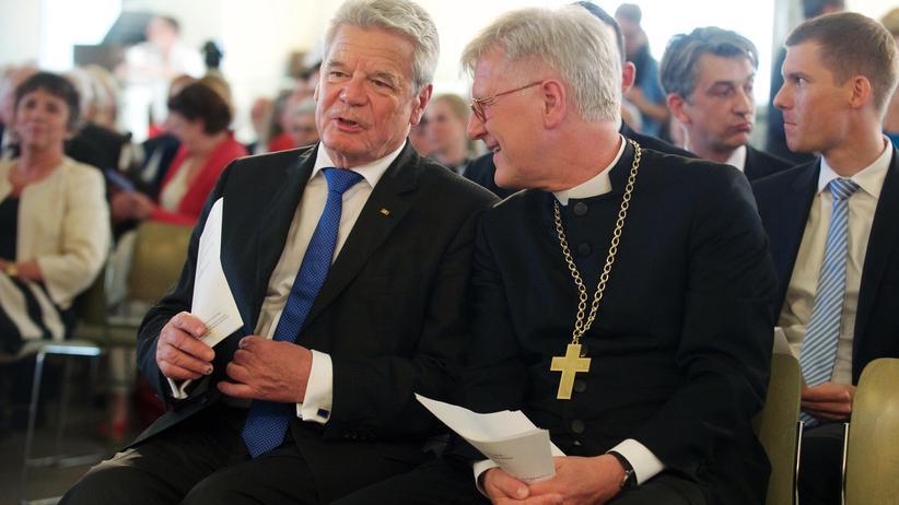 Gauck und Bedford-Strohm