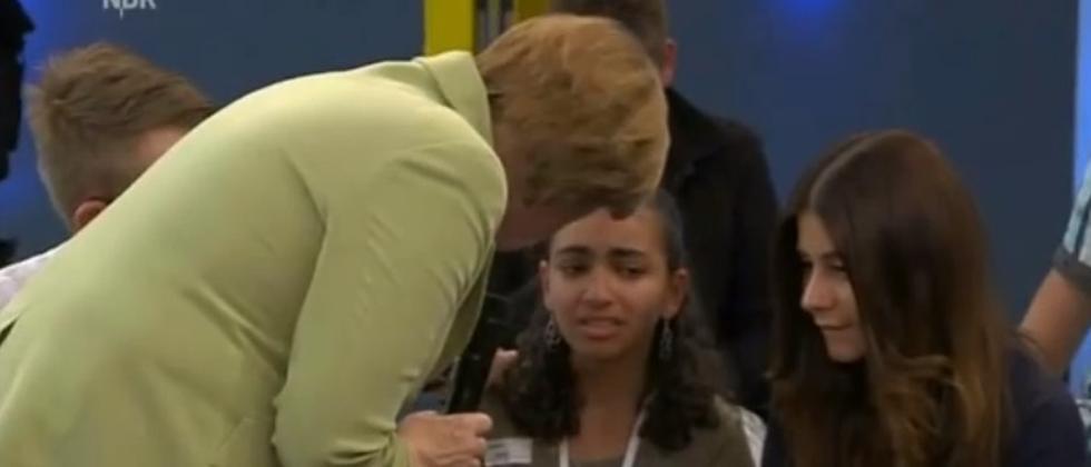 Merkel Bürgerdialog Rostock