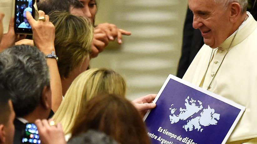 Papst Franziskus Argentinien Falkland Inseln Großbritannien