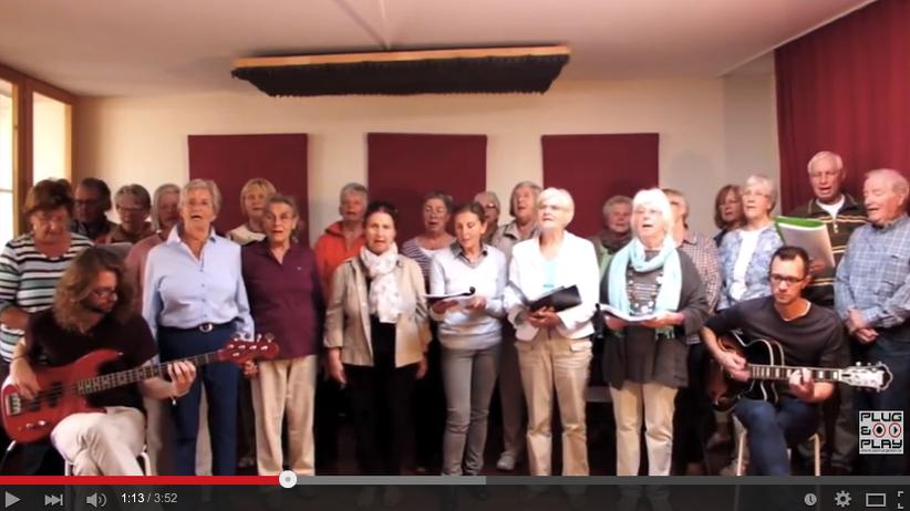 Chor gegen Rechtsextremismus: Senioren schreien nach Liebe