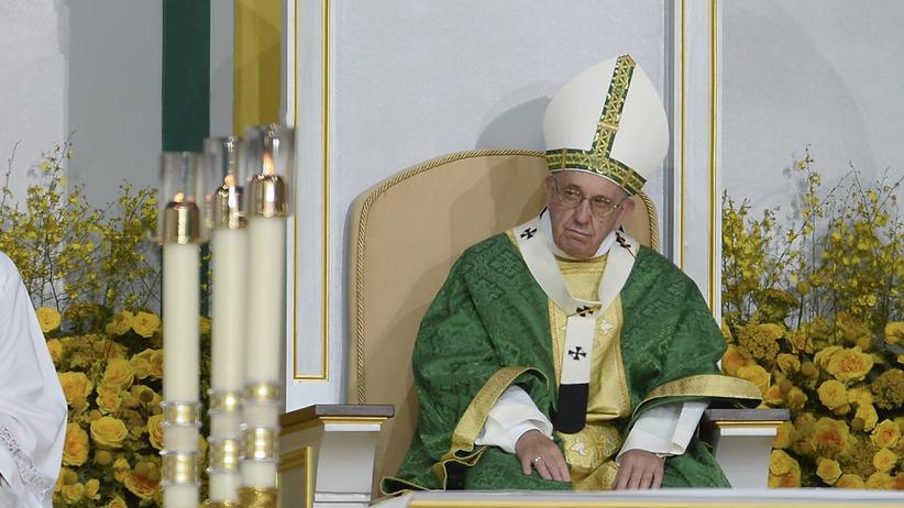 US-Besuch Papst kündigt Konsequenzen für Missbrauchsfälle an
