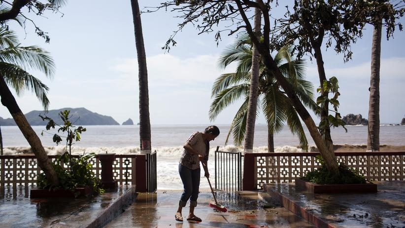 Mexiko: Patricia wurde auf die Kategorie eines tropischen Sturms herabgestuft.