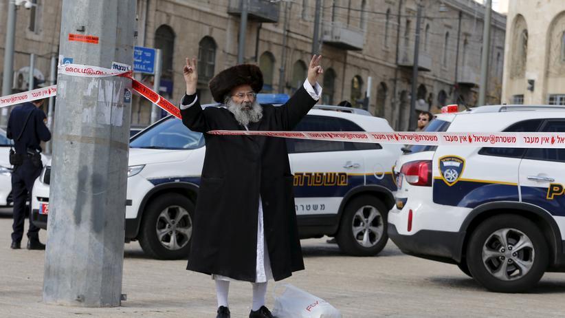 Westjordanland: Der Ort der Messerattacke südlich von Nablus im Westjordanland