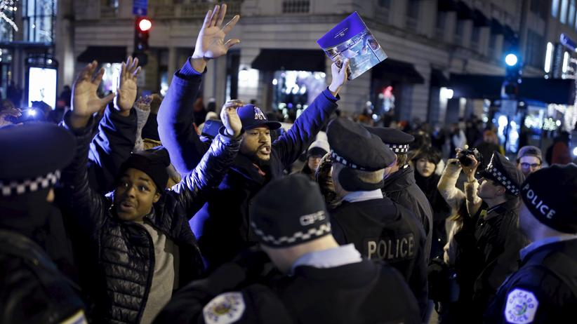 Proteste gegen Polizeigewalt in Chicago