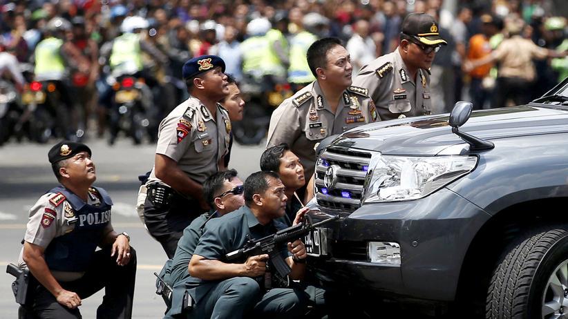Indonesien: IS-Miliz bekennt sich zu Anschlag in Jakarta