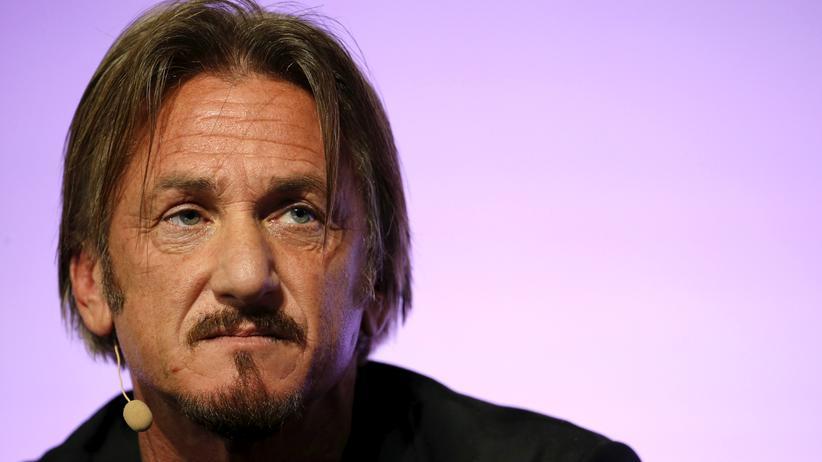 Drogen: Sean Penn bei der Klimakonferenz in Paris