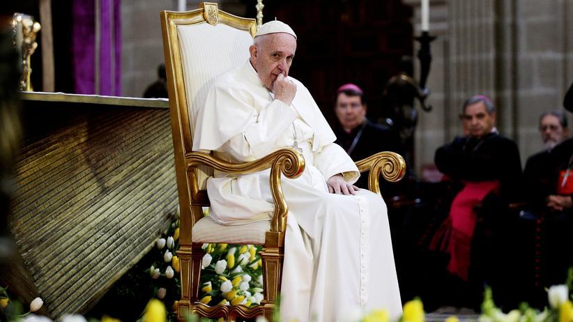 Franziskus: Papst Franziskus im Februar in Mexiko-Stadt