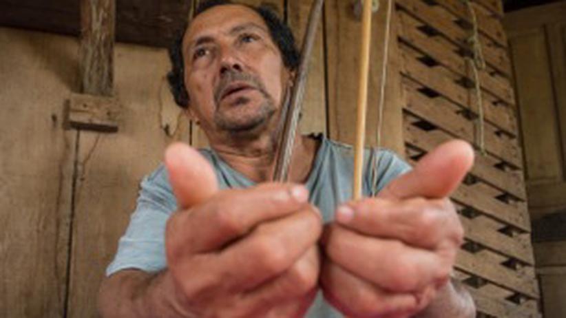 Leo Kiki, Vizehäuptling und oberster Waffenhersteller beim Volk der Tenharim