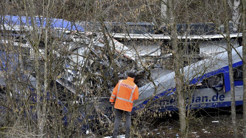 Bei dem Zugunglück in Bad Aibling am 9. Februar starben elf Menschen, 85 wurden verletzt.