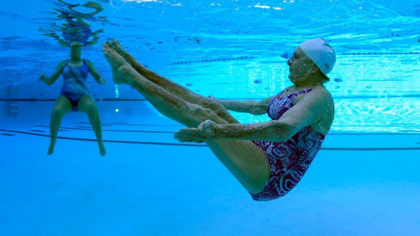 Alter: Seniorenschwimmen in den USA