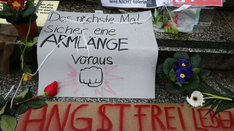 Sexuelle Gewalt: Protest nach den sexuellen Übergriffe in der Silversternacht in Köln