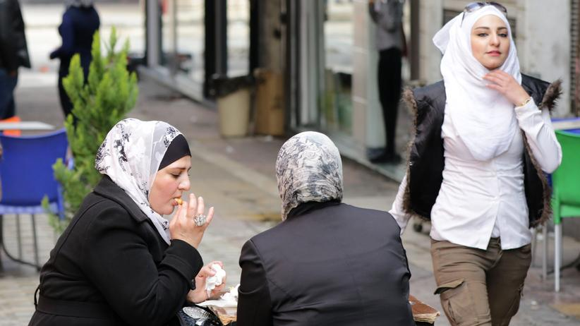 Syrien: Frauen in der syrischen Hauptstadt Damaskus