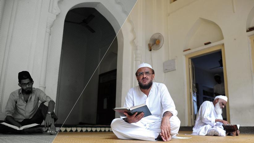 Integration: In einer Moschee im Ramadan (Archiv)