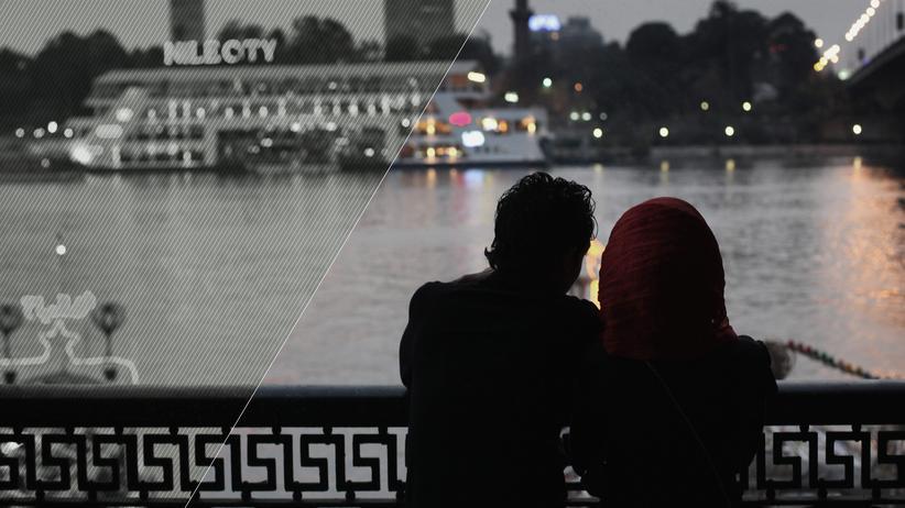 Hidschab: Ein ägyptisches Paar in Kairo (Archivbild)
