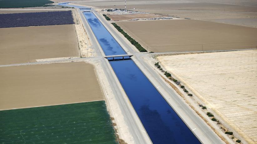 Grundwasservorkommen im kalifornischen Central Valley