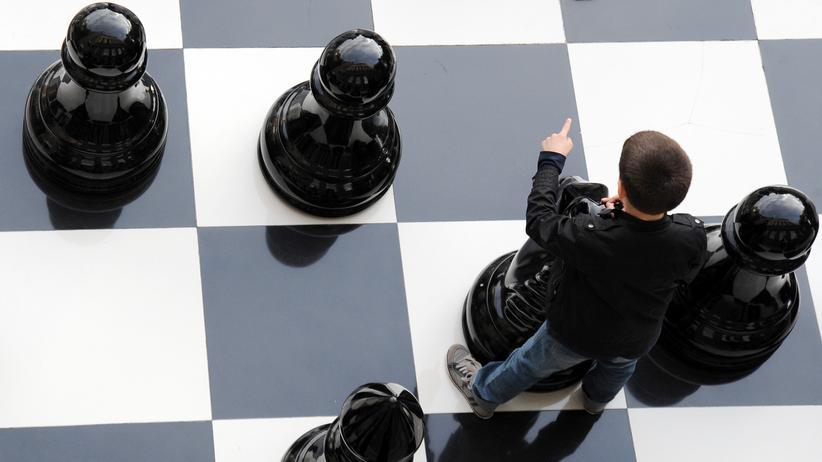 Schach Schachbrett Kinder Spiel Regeln Mathe Denksport