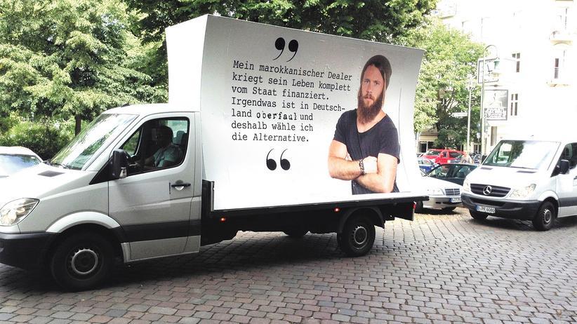 Alternative für Deutschland: Das Plakat der Berliner AfD