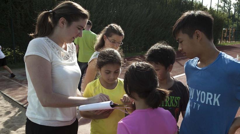 Flüchtlinge: Fünf Schüler schaffen das. Aber wie?