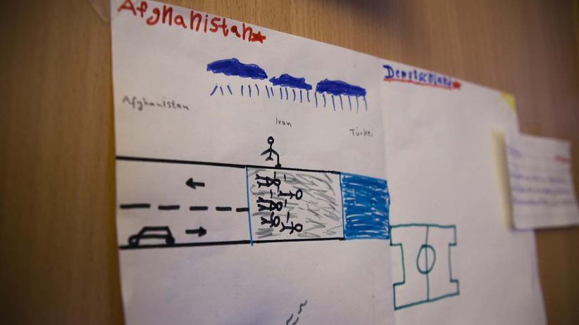 fluechtlinge-kinder-willkommensklasse-potsdam-zeichnung