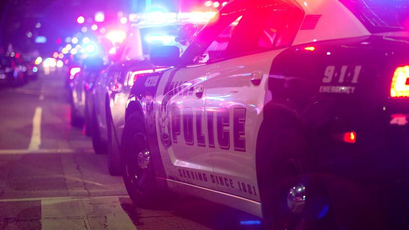 Texas: Ein Polizeiauto in der texanischen Stadt Dallas
