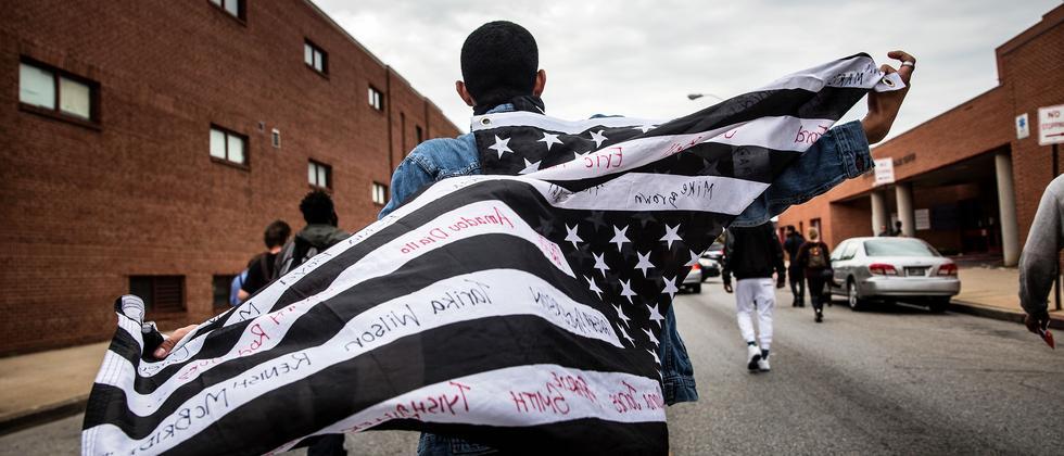 Proteste nach dem Tod von Freddie Gray