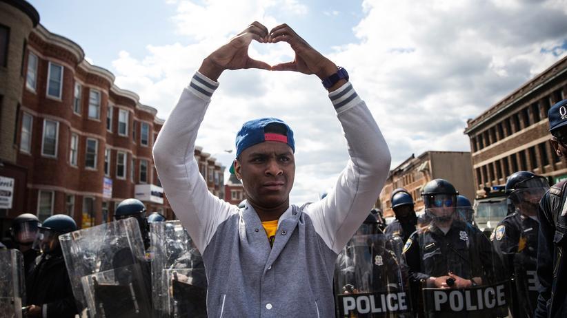 """Black Lives Matter: """"Wir sind nur eine Kugel davon entfernt, ein Hashtag zu werden"""""""