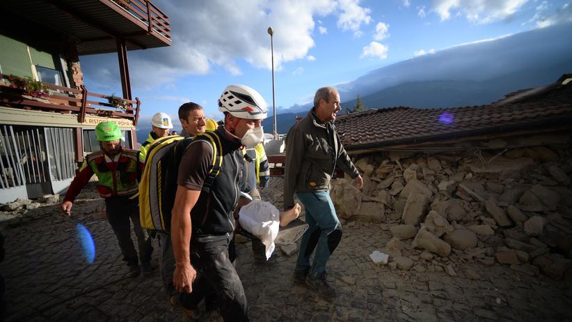 erdbeben, italien, mittelitalien