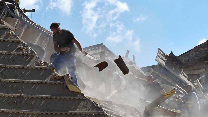 erdbeben, italien