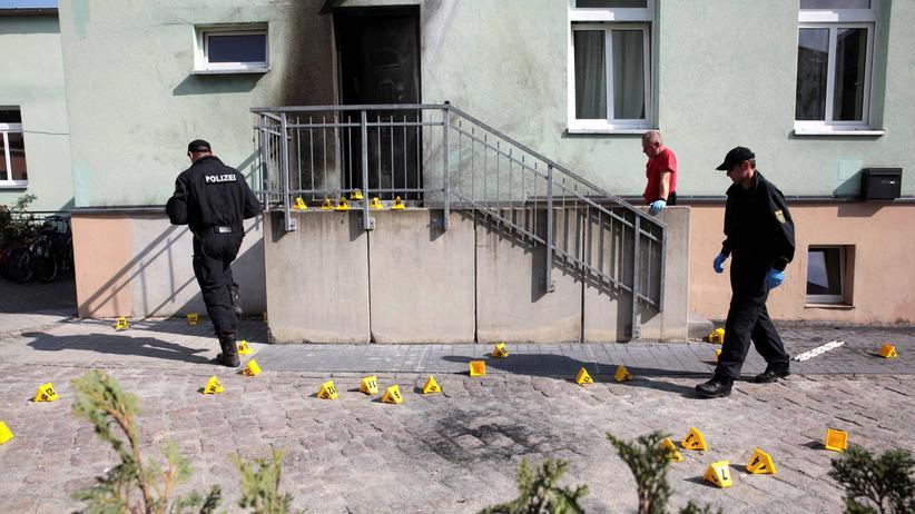 Dresden: Bekennerschreiben zu Anschlägen aufgetaucht