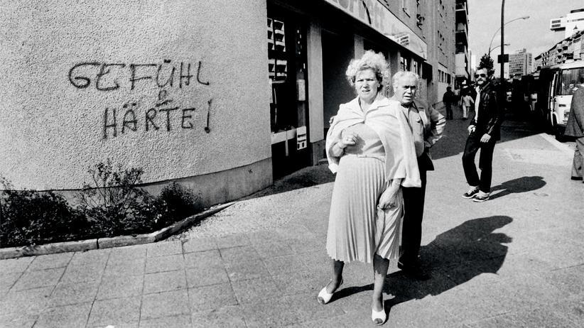 Ost- und Westberlin: Eine Szene aus Berlin-West, fotografiert von Christian Schulz: Der Chic der Achtziger