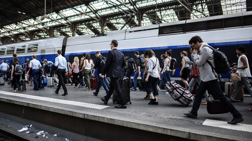 Paris: Anschlag auf Pariser Bahnhof verhindert