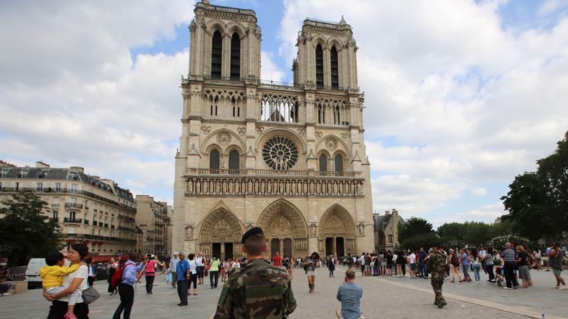 Paris: Die Kathedrale Notre-Dame in Paris