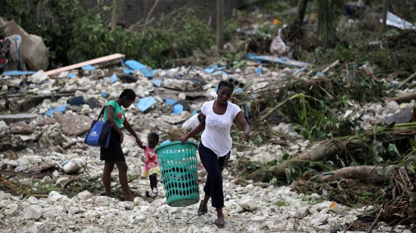 Haiti: Zahl der Toten durch Hurrikan Matthew steigt weiter