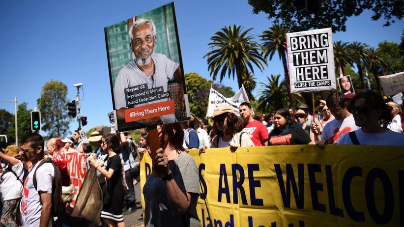 Flüchtlinge: Proteste in Sydney gegen Australiens Flüchtlingspolitik
