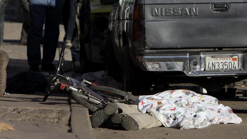 Mexiko: Tote am Straßenrand.