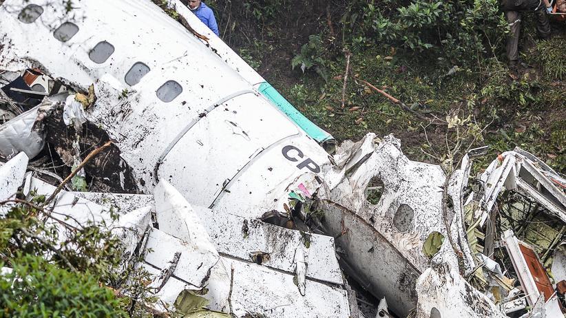 Flugzeugabsturz Kolumbien