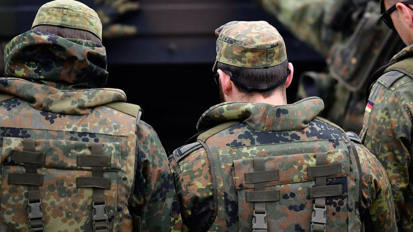 Bundeswehr: Soldaten der Bundeswehr bei einer Übung
