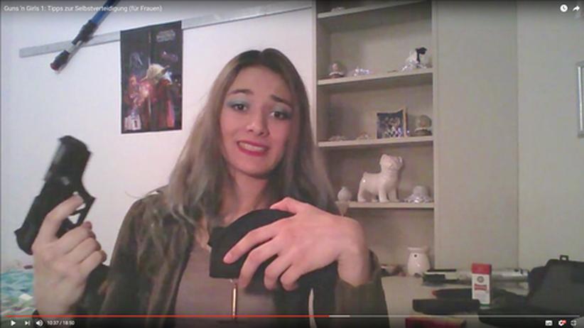 Kleiner Waffenschein: Carolin Matthie