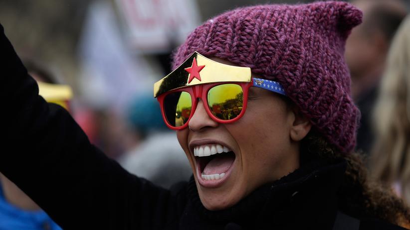 Women's March : Pink Power
