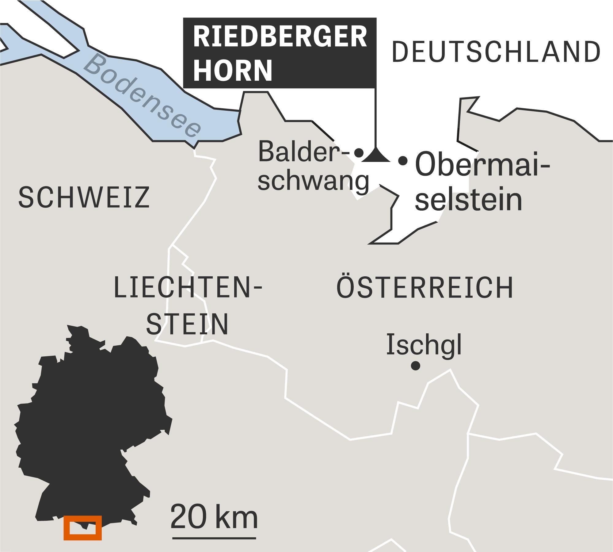 Das Riedberger Horn soll mit einem anderen Skigebiet verbunden werden.