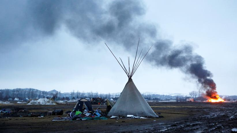 Dakota Access Pipeline: Aktivisten verlassen Protestcamp