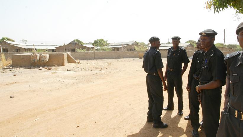 Nigeria: Polizisten der Region Kaduna im Norden Nigerias